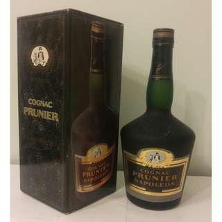 (670) Prunier Napoleon 700ml 40% (有盒)日本法國舊酒洋酒威士忌白蘭地干邑拿破崙whisky brandy cognac xo vsop napoleon