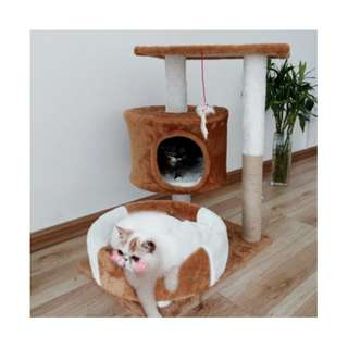 {In Stock} Cat Condo K45 (Milky Brown/ Coffee Brown)