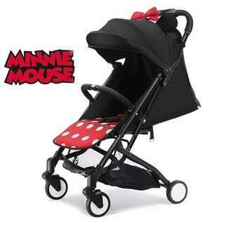 Disney Foldable Stroller - MINNIE MOUSE
