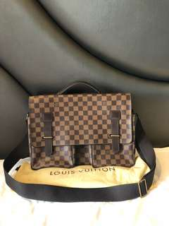 LV Louis Vuitton Broadway damier 2003 with db