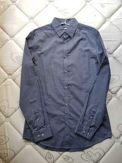 H&M Dark Gray (Charcoal) Long Sleeve Shirt