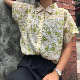 夏威夷度假風短袖襯衫