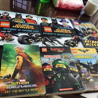 🚚 LEGO/Marvel Junior Novel