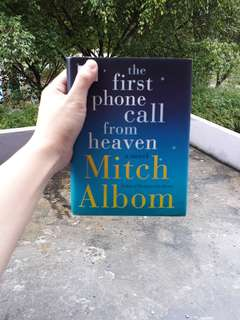 The First Phone Call from Heaven (by Mitch Albom)