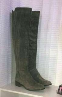 New Size 9 to 9.5 Suede Feel XLong Boots