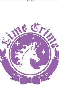 [Pre-Order]Lime Crime products