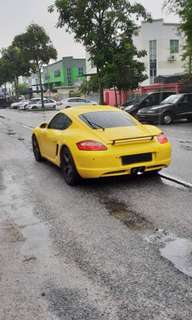 Porsche Cayman For Rent