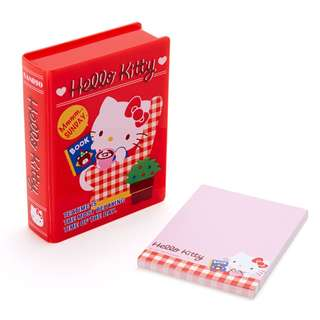 Japan Sanrio Hello Kitty Book tpye Case Memo