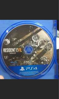 PS4 惡靈古堡7