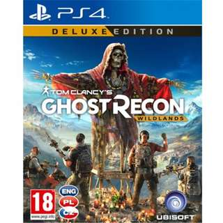 [DELUXE EDITION] PS4 Tom Clancy's Ghost Recon: Wildlands Gold Edition Sony Ubisoft Action Games