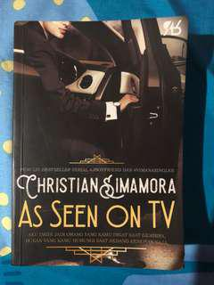 As Seen On TV novel by Christian Simamora