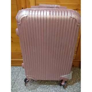 20吋 玫瑰金行李箱,全新