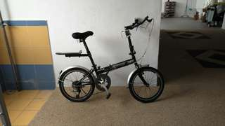 Foldable bike
