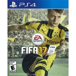 WTS: FIFA 17 (PS4)