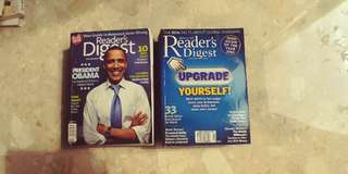 Readers digest 2008 to 2009
