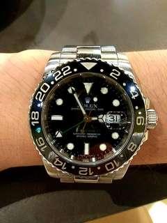 "LIKE NEW! ""M"" series Rolex GMT II"
