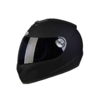 Motorcycle Helmet Ad-179 - Matt Black