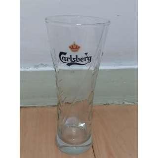 [99%新] Carlsberg 嘉士伯玻璃杯