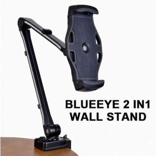 BLUEEYE 2 IN1 WALL STAND - BLACK