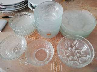 Glassware from the 70's 25pcs package
