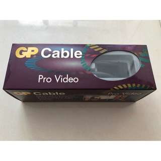全新GP Cable Pro Video 線,視頻線
