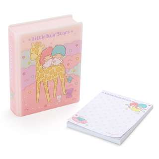 Japan Sanrio Little Twin Star Book type Case Memo