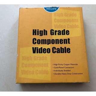 全新 Philips High Grade Component Vide Cabel