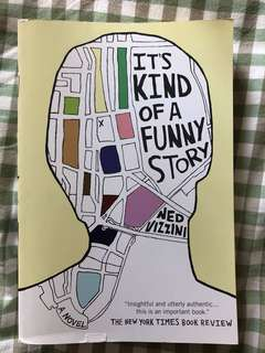 Book: it's kind of a funny story