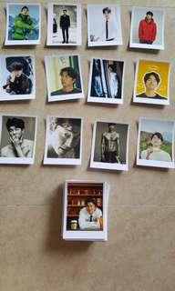 Gong Yoo Lomo Polaroid Photos Laser Printed on Digital Inkjet Paper Glossy