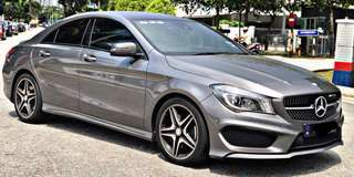 SAMBUNG BAYAR / CONTINUE LOAN  MERCEDES BENZ CLA250 AMG  SUNROOF  YEAR 2014