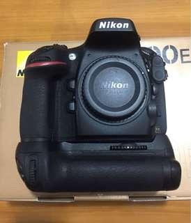 Nikon D800e Body with Nikon MB-D12 grip