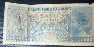 Uang R.I 1Rupiah