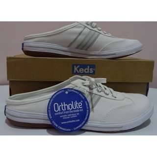 Brand New Authentic Keds Ortholite Slip On Shoes (Women Size 7.5)