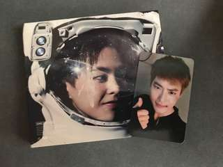 EXO Sing For You Album Xiumin&Chi.Ver專輯+Suho小卡