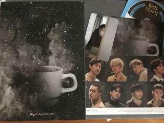 EXO Universe album專輯+世勛Sehun小卡