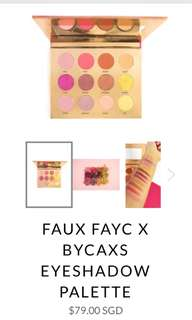 Faux fayc by Caxs Eyeshadow Palette