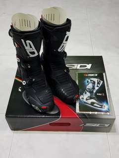 SIDI Mag 1 Racing Boots Size US 7.5/EUR 41