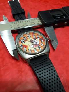 Mickey  mouse        tough her watch