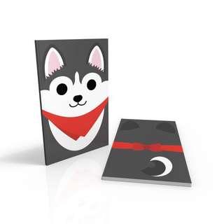Husky - Doggy notebook