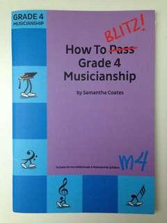 How to BLITZ! Grade 4 Musicianship