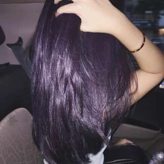 Kool Dark Violet Hair Dye