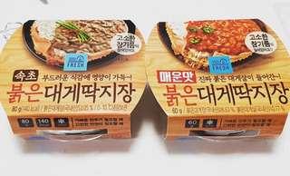 韓國GS25便利店蟹膏(原味/辣味)