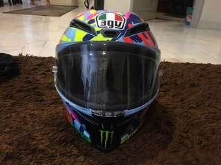 AGV Helmet Valentino Rossi limited edition corsa misano