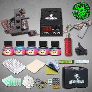 Dragon Eagle brand tattoo machine set ( T003 ) INSTOCK