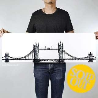 100copies Bicycle Artwork: 23 - God Save The Bike