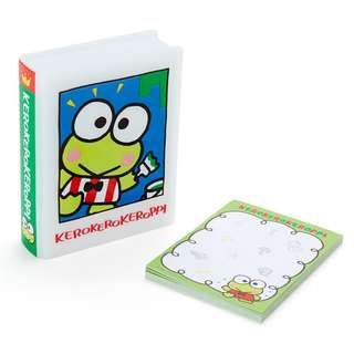 Japan Sanrio Keroppi Book Type Case Memo