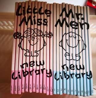 Mr Men and Little Miss full set of 24 books.