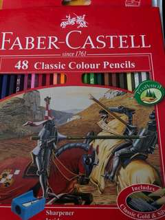 Faber-Castell : 48 colour pencils