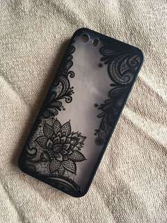 Transparent Floral iPhone Case (For Multiple iPhones)