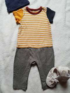 Free shipping! Baby Gap Romper pants 3-6mos